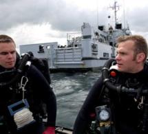 Les plongeurs démineurs de la Manche en état d'alerte sur le D-Day