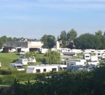 Contrôles d'identité dans un camp improvisé des gens du voyage à Mesnil-Esnard et Franqueville-Saint-Pierre