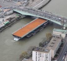 Rouen : la pièce maîtresse du pont Mathilde est attendue ce dimanche soir