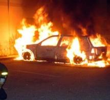 Trois véhicules détruits par un incendie et trois autres endommagés à Maromme