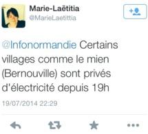Violents orages encore ce soir dans l'Eure : déjà 120 interventions des pompiers depuis 18 h 30
