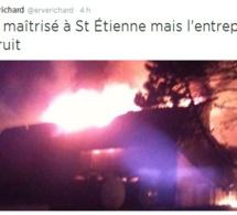 Violent incendie à l'usine Copak à Saint-Etienne-du-Rouvray : 50 salariés au chômage technique