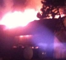 Incendie dans l'usine Copak : pas de risques toxiques, indique la préfecture de Seine-Maritime