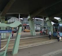 Une quinquagénaire coincée sous une rame du métrobus à Sotteville-lès-Rouen