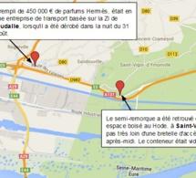 Près de 450 000€ de parfums de luxe Hermès dérobés près du Havre