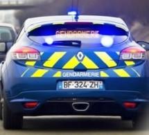 Les gendarmes du PSIG d'Yvetot mettent un terme à la course entre deux automobilistes