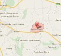 Un motard tué ce matin sur la D13 à Mesnil-Raoul, en Seine-Maritime