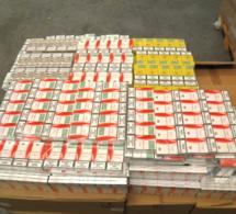 Les douaniers saisissent 1,7 tonne de cigarettes de contrebande dans le port de Calais