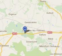 La RN 12 coupée en direction de Houdan (Yvelines) à la suite d'un accident