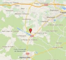 Yvelines : un jeune motard trouve la mort dans une collision sur la D 191, au nord de Rambouillet