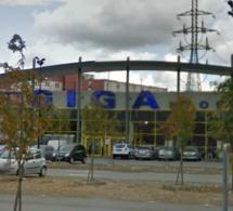 Yvelines :  deux malfaiteurs cachés dans les toilettes braquent le Giga Store de Coignières