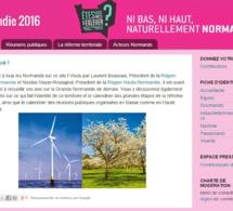 La Haute et Basse-Normandie parlent désormais le même langage sur Internet !