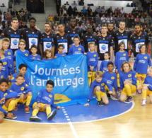 Journées de l'arbitrage : vingt enfants de postiers aux côtés des joueurs du SPO Rouen
