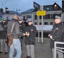 La gare de Vernon quadrillée ce matin par les forces de l'ordre pour une opération de sécurisation