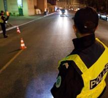 Refus d'obtempérer à Rouen : la course-poursuite se termine dans un panneau de stationnement