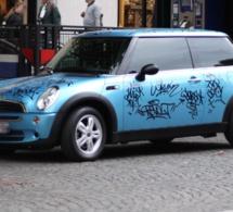 Barentin : trois adolescents interpellés cette nuit pour avoir tagué 8 voitures