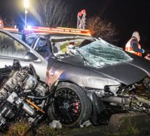 Orgeval : deux morts et deux blessés graves dans une effroyable collision
