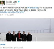 Le clin d'oeil de Manuel Valls à la Normandie (bientôt) réunifiée