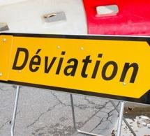 Yvelines : l'ex-RN13 coupée dans les deux sens à cause d'une fuite de gaz à Bougival