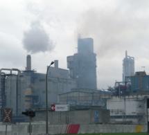 Pollution par le dioxyde de soufre sur Notre-Dame-de-Gravenchon ce vendredi matin