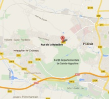 Tentative d'effraction à la voiture bélier chez un paysagiste à Plaisir : la Citroën retrouvée brûlée