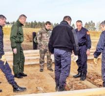 Evreux : les 185 obus allemands évacués de la BA105 et entreposés dans un lieu sûr