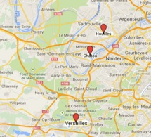 Trois personnes âgées (de 77 à 92 ans) victimes de faux policiers à Versailles, Houilles et Chatou