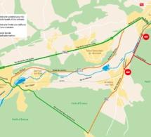 Pose d'un pont-rail sur la déviation d'Evreux : calendrier des opérations