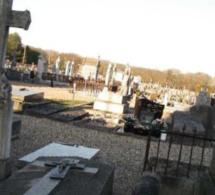 Encore des tombes profanées : à Saint-Aubin-lès-Elbeuf cette fois