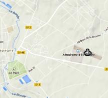 Un pilote d'ULM se pose sans dommage dans un champ près de l'aérodrome d'Etrépagny,