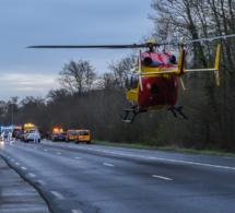 Seine-Maritime : quatre enfants d'une même famille blessés dans un accident de minibus