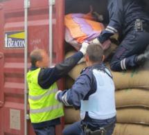 Seine-Maritime : 82 kg de cocaïne saisis par la douane sur le port du Havre