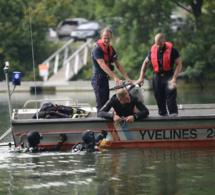 Yvelines. Le corps d'un homme repêché en Seine près du pont de Chatou