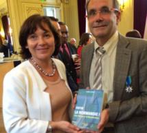 Franck Martin distingué par son amie et ministre pour son action dans la rénovation du Marité