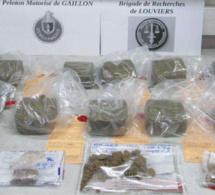 Eure : 5,38 kg de résine de cannabis saisis, deux jeunes de Mantes-la-Jolie interpellés