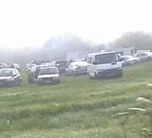 Rave party sauvage dans l'Eure : plus de 2 000 teufeurs réunis à Gasny