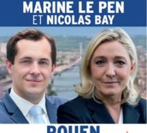 Marine Le Pen (FN) à Rouen ce vendredi soir : Ras l'front appelle à la riposte