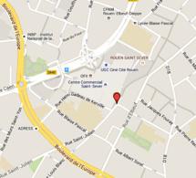 Colis suspect à Rouen : périmètre de sécurité dans le quartier Saint Sever, ce matin