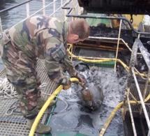 Seine-Maritime : quatre obus détruits à Veulettes-sur-Mer par les plongeurs-démineurs