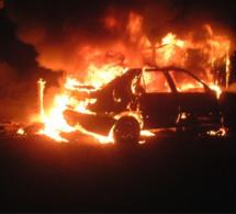 Gaillon : deux véhicules détruits par des incendies criminels, un troisième endommagé