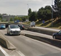 Le conducteur ivre circulait à contresens : il est interpellé dans la trémie de la Motte à Rouen