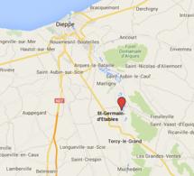 Seine-Maritime : la RD149 coupée à la circulation après la chute d'une ligne à haute tension