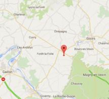 Une ferme en feu à Authevernes, dans l'Eure : 45 pompiers mobilisés