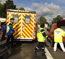 Deux blessés graves à Menneval près de Bernay : le conducteur en fuite est toujours en garde à vue