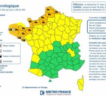 Vents violents et fortes pluies attendus en Normandie la nuit prochaine