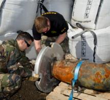 Saint-Adresse : opération déminage sans couac sur la plage [Vidéo et photos]