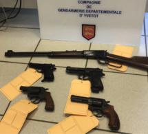 Des armes et des munitions prêtes à être utilisées saisies en Seine-Maritime