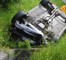Eure : cinq blessés, dont deux graves, dans une sortie de route côte de Grainville