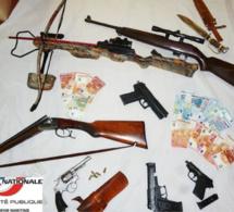 Oissel : la police saisit des armes et des munitions chez un homme considéré comme très dangereux