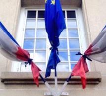 Minute de silence à la Préfecture de Seine-Maritime à la mémoire des victimes de l'attentat de Nice